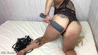 Spanking, smacking my tits & ass for you, Master!